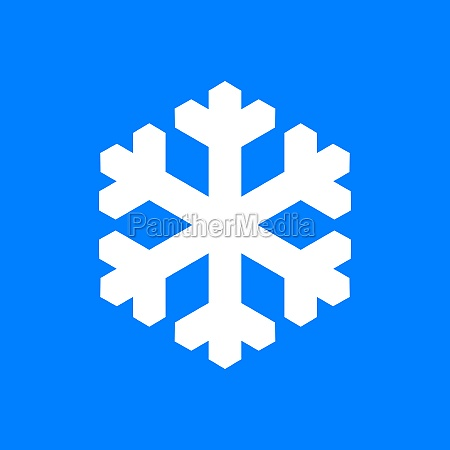 snow flake and background