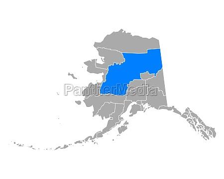 map of yukon koyukuk in alaska