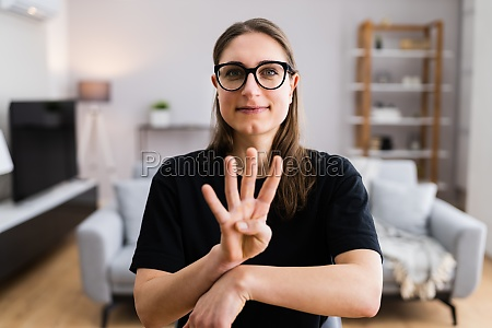 learning sign language hearing disability talking