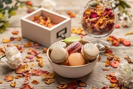 dessert still life