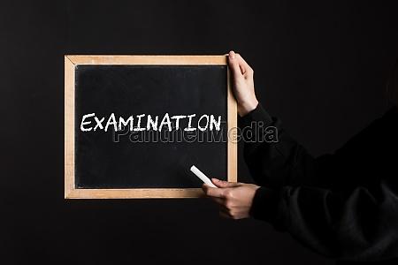 medical examination or health check