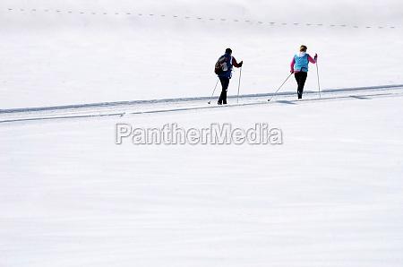langlaufen im winterwunderland gosau bezirk gmunden