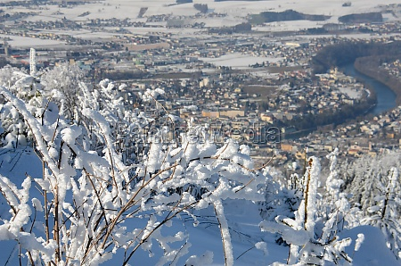 winterwonderland auf dem gruenberg gmunden salzkammergut