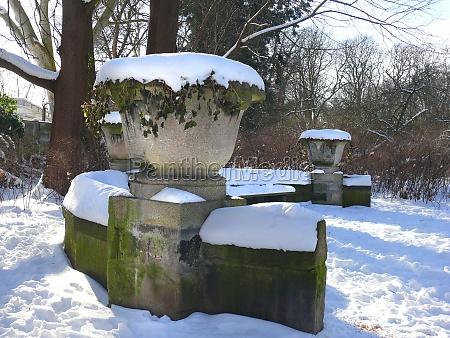 in the garden wiehbergpark in hannover