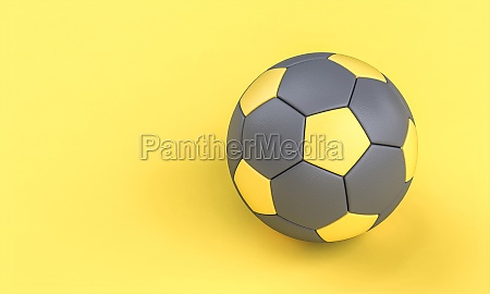 gray and yellow soccer ball on