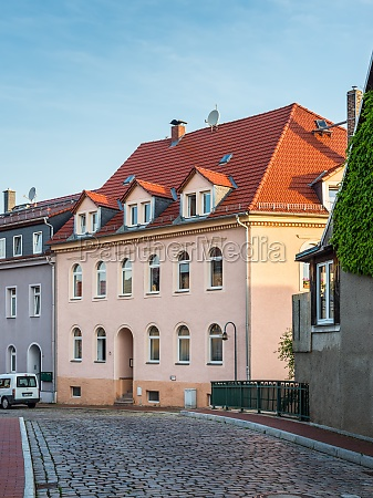 architecture of the suburbs of dresden