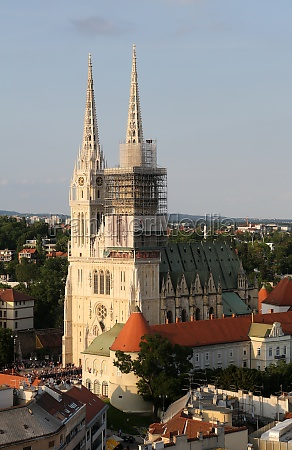 zagreb cathedral dedicated to the assumption