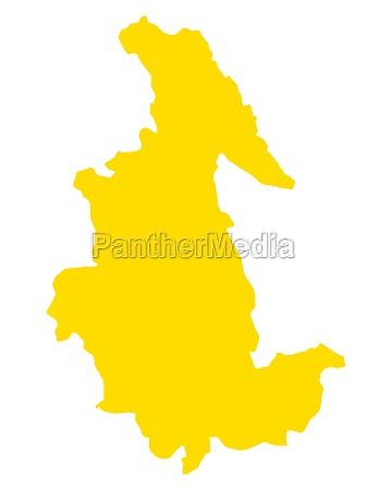 map of ayacucho