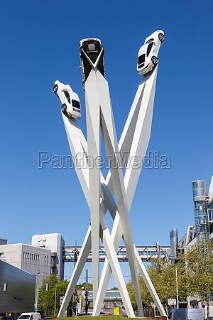porsche 911 car art headquarters headquarter