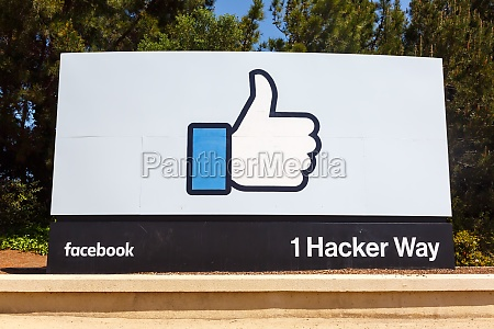 facebook headquarter headquarters hq thumbs up