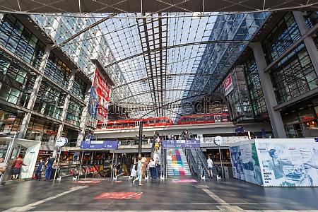 berlin main railway station hauptbahnhof hbf