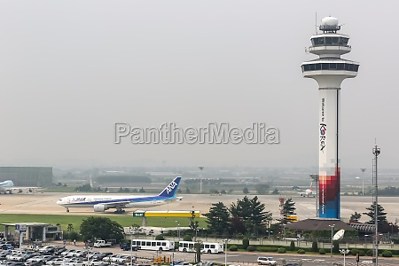 seoul gimpo international airport tower in