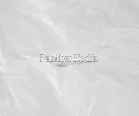 white crumpled parchment paper texture