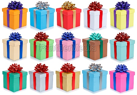 birthday gifts christmas presents collection background