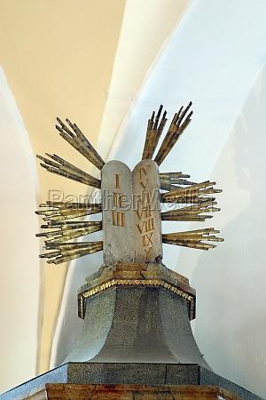 ten commandments church of saint francis