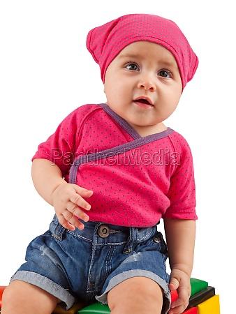cute female toddler