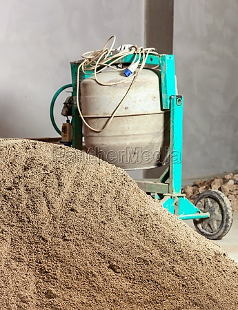 industrial cement mixer machinery