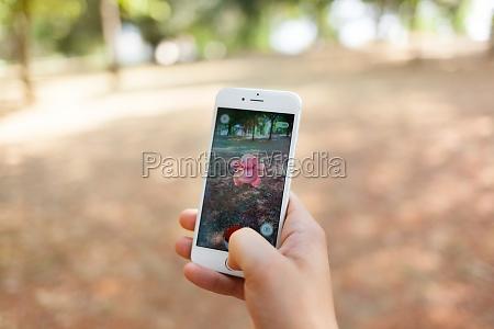 nintendo pokemon go augmented reality smartphone