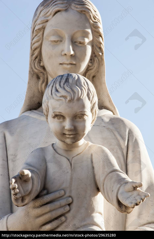madonna, and, jesus, child - 29635280
