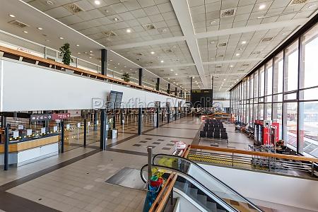 berlin schoenefeld sxf airport terminal in
