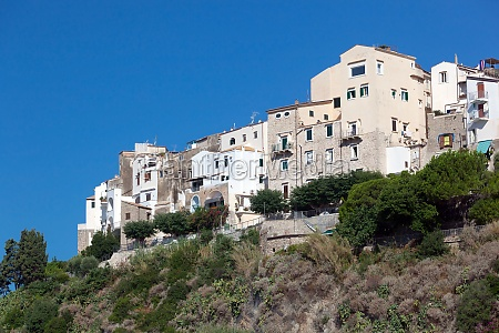 view of old town of sperlonga