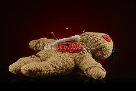 heart break voodoo doll
