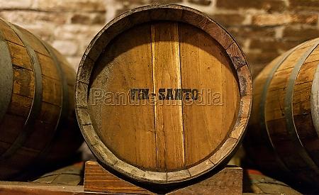 barrels of vin santo