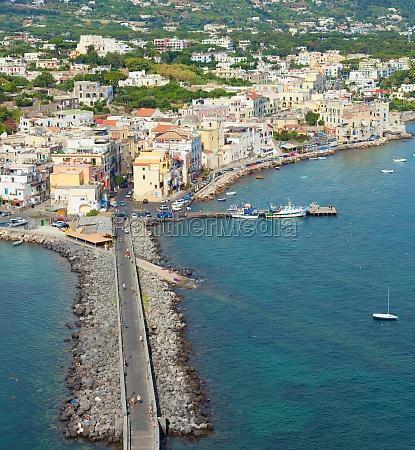 view of ischia ponte