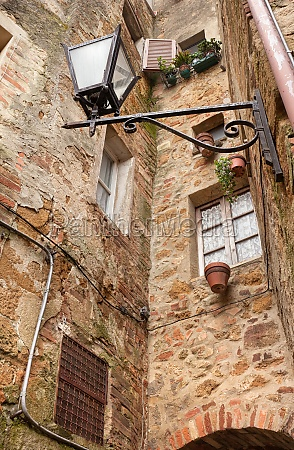 the ancient italian city of pienza