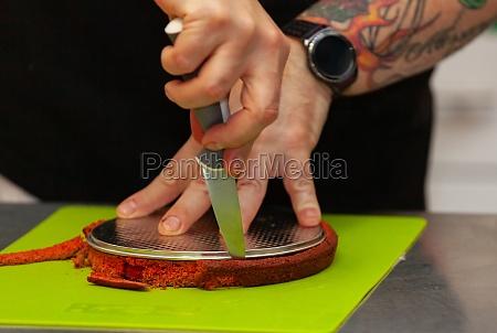 sponge cake for red velvet cake