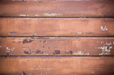 rusty rolling shutter