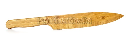knife in bamboo wood