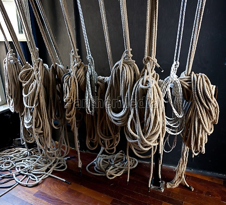 support cables for the scenes of