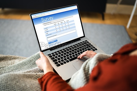 online survey business feedback report or