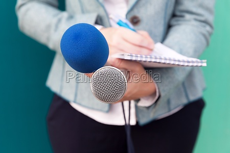 news reporter or tv journalist at