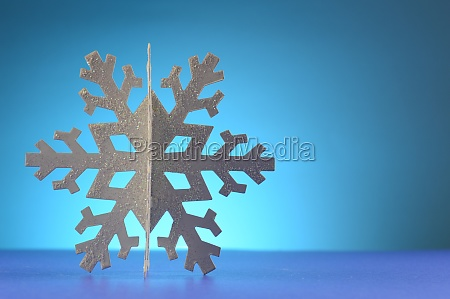 cool winter snowflake