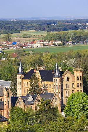 bzenec castle in southern moravia czech