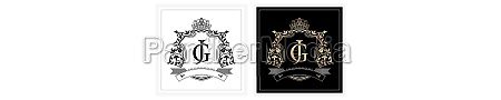 jg or gj initial letter and