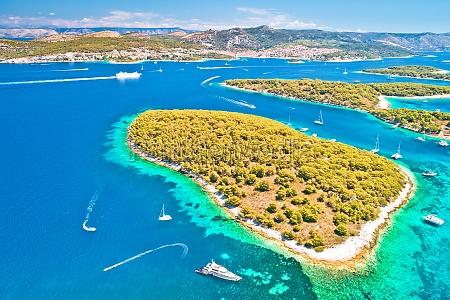 pakleni otoci sailing destination archipelago aerial