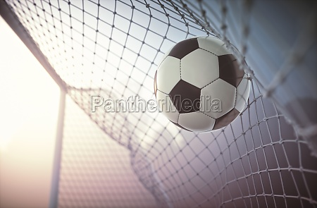 soccer ball scoring goal