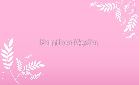 abstract realistic background template with flowers
