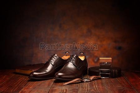businessman fashion still life