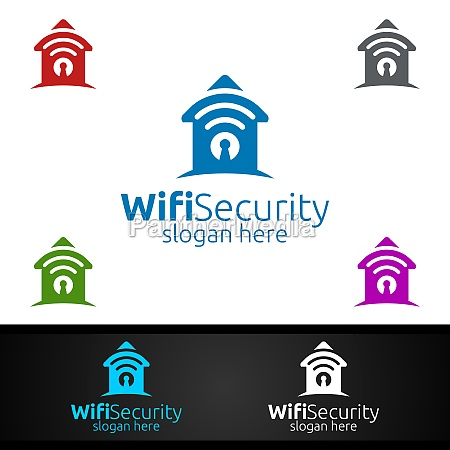 home wifi security logo for network