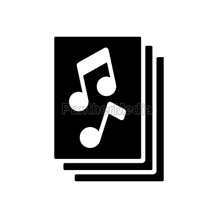 music book with musical notes vector