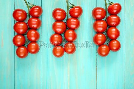 cherry tomatos branches