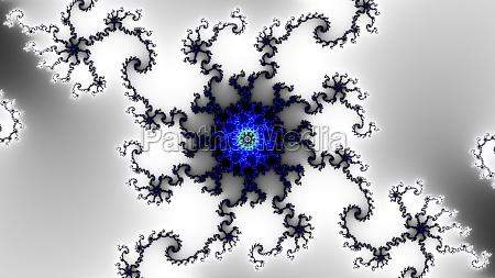 mandelbrot fractal circular pattern infinite spirals