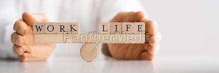life balance protection concept