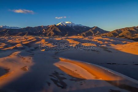 great sand dunes national park in