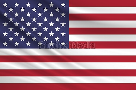 flag of united states fabric texture