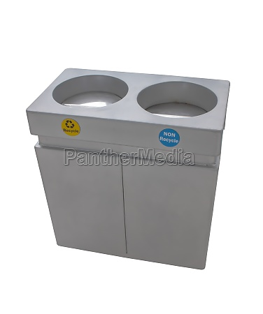 trashcan stainless steel